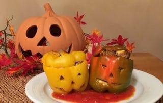 Halloween Paprika - gruseliges Superfood